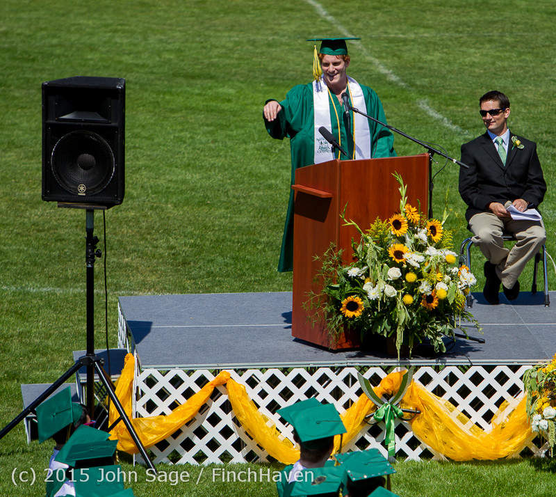 6727 Vashon Island High School Graduation 2015 061315