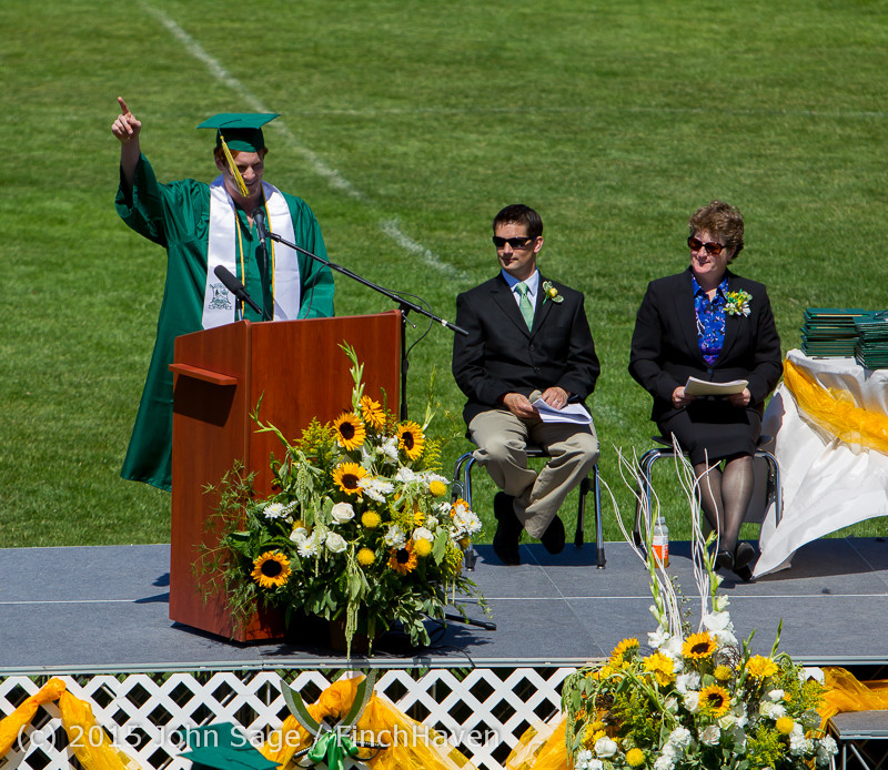 6728 Vashon Island High School Graduation 2015 061315