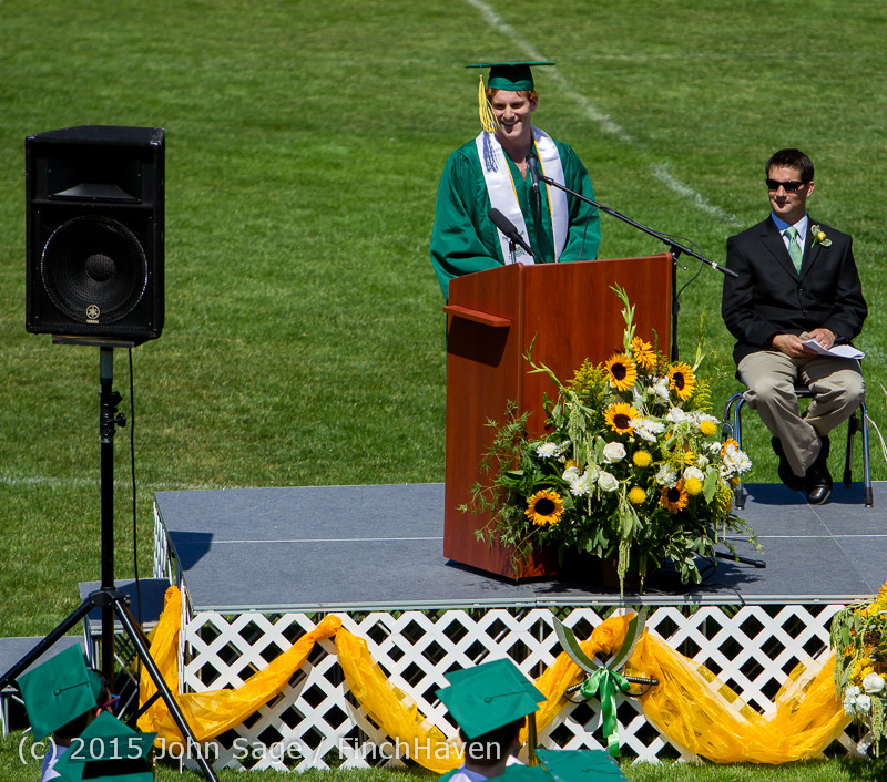 6732 Vashon Island High School Graduation 2015 061315