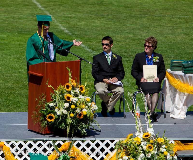 6743 Vashon Island High School Graduation 2015 061315