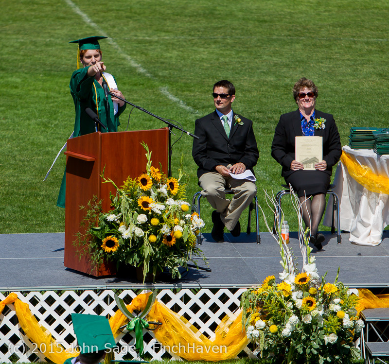 6752 Vashon Island High School Graduation 2015 061315