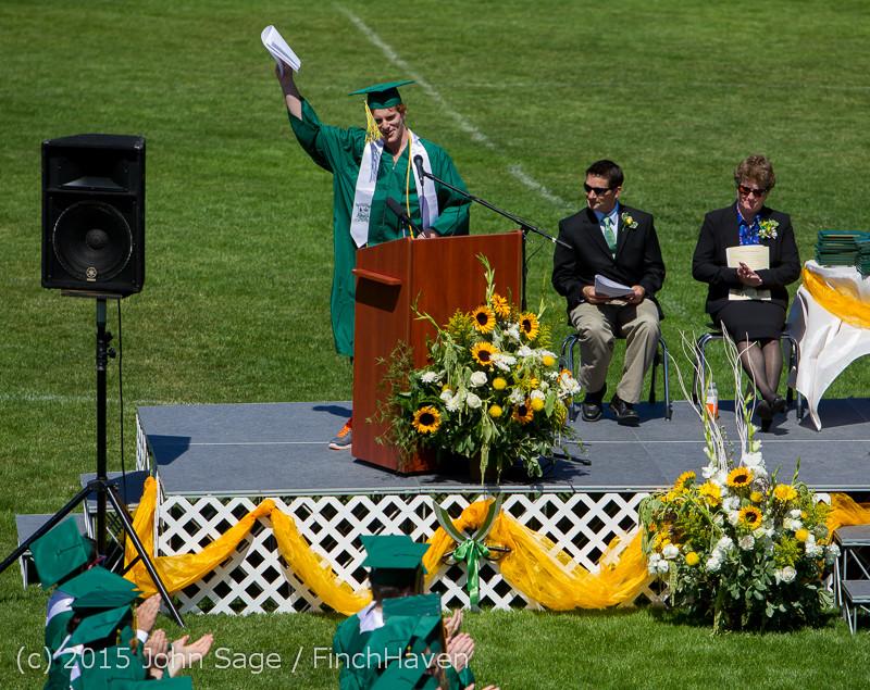6761 Vashon Island High School Graduation 2015 061315