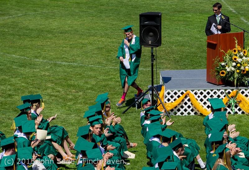 6764 Vashon Island High School Graduation 2015 061315