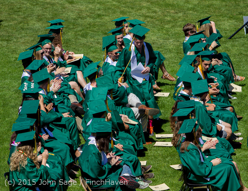 6770 Vashon Island High School Graduation 2015 061315