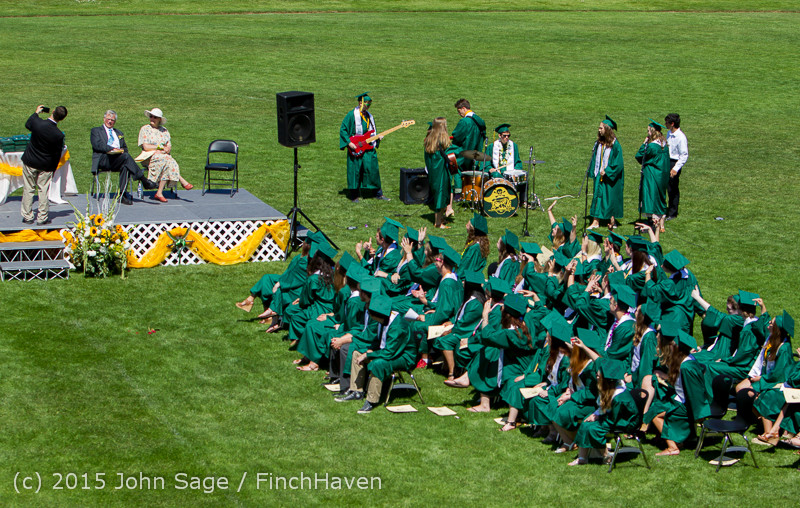 6780 Vashon Island High School Graduation 2015 061315