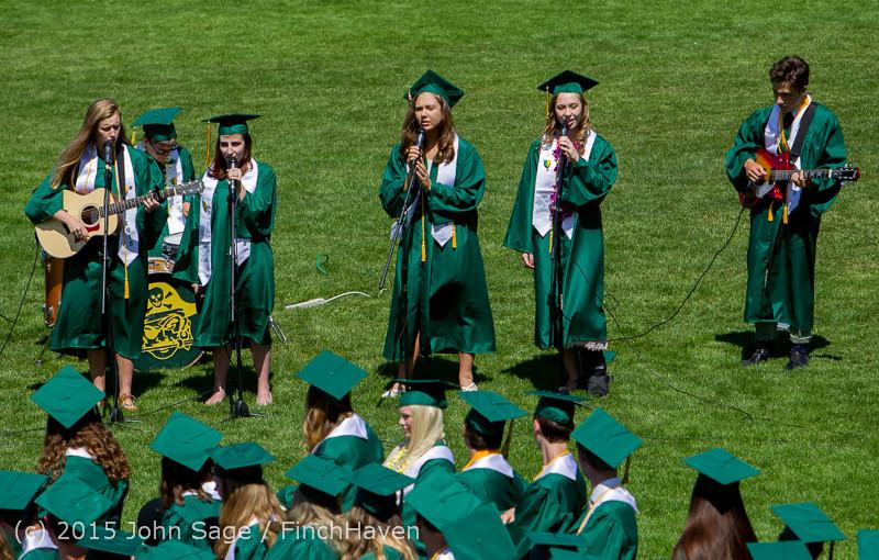 6790 Vashon Island High School Graduation 2015 061315