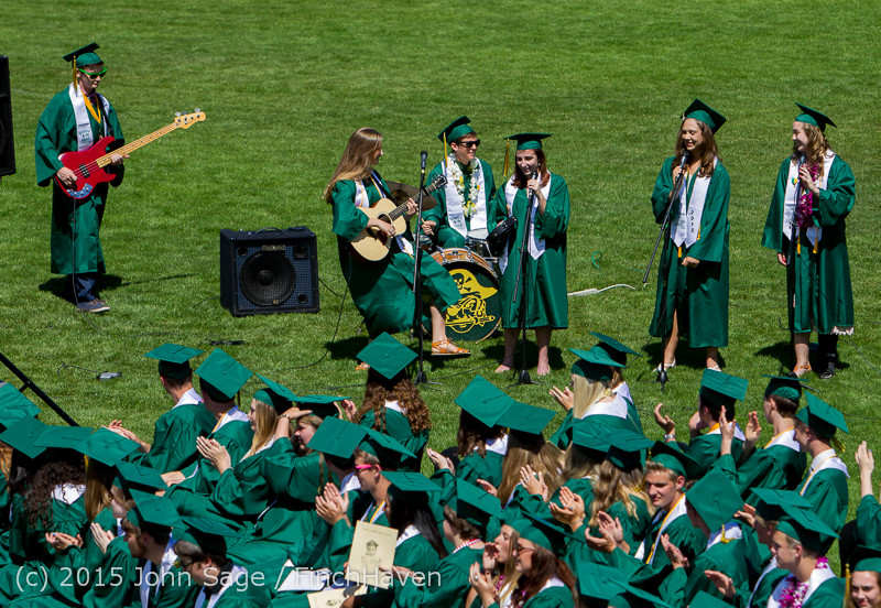 6797 Vashon Island High School Graduation 2015 061315
