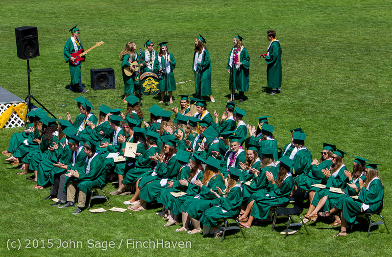 6799 Vashon Island High School Graduation 2015 061315