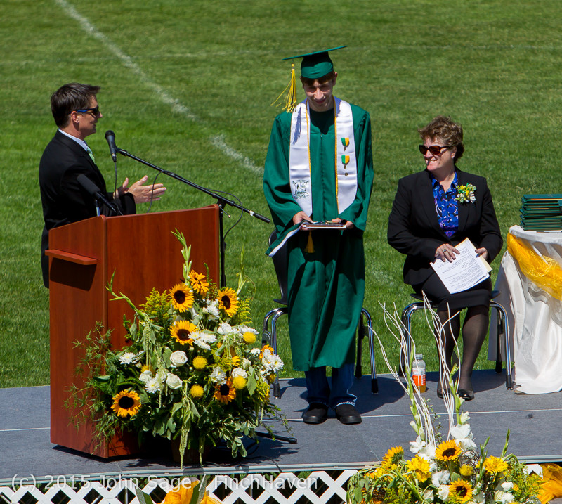 6832 Vashon Island High School Graduation 2015 061315