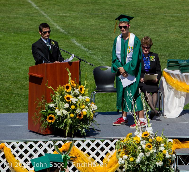 6847 Vashon Island High School Graduation 2015 061315
