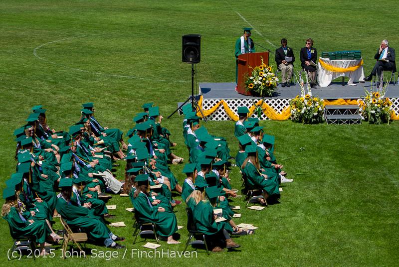 6860 Vashon Island High School Graduation 2015 061315