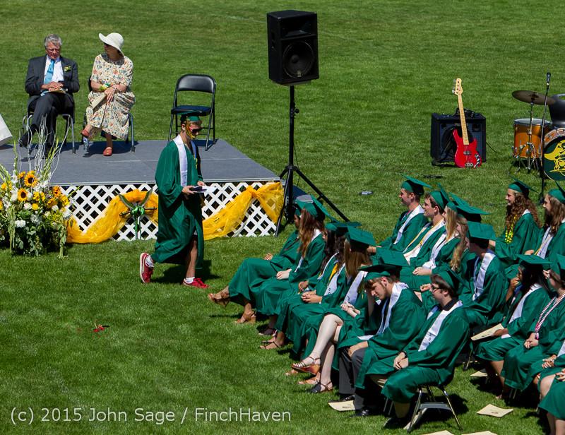 6873 Vashon Island High School Graduation 2015 061315
