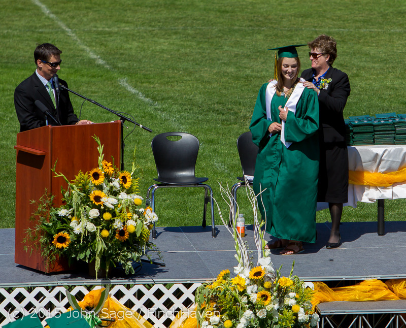 6885 Vashon Island High School Graduation 2015 061315