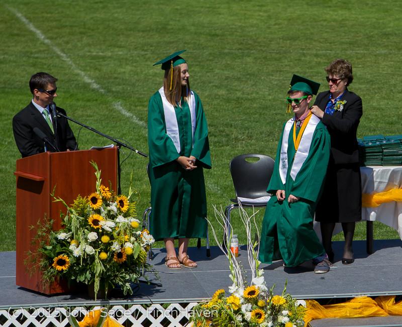 6892 Vashon Island High School Graduation 2015 061315