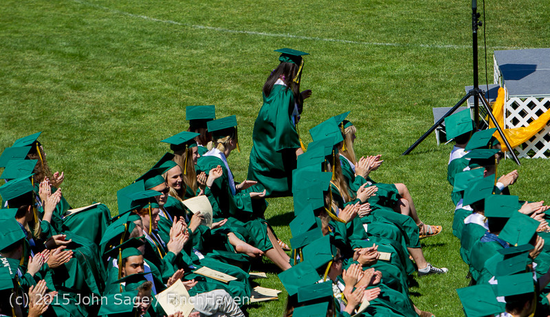 6907 Vashon Island High School Graduation 2015 061315