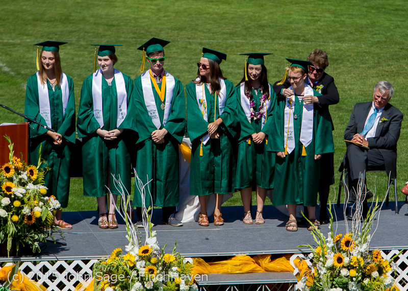 6918 Vashon Island High School Graduation 2015 061315
