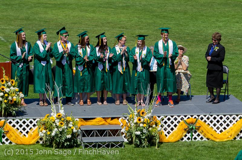 6937 Vashon Island High School Graduation 2015 061315