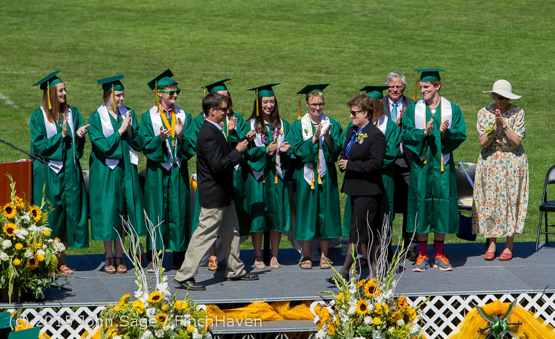 6940 Vashon Island High School Graduation 2015 061315