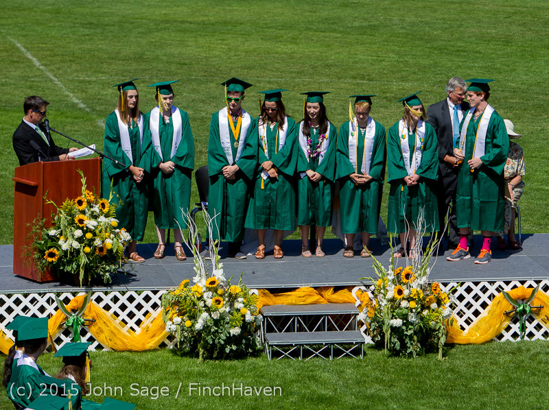 6958 Vashon Island High School Graduation 2015 061315
