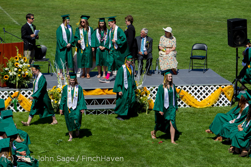 6961 Vashon Island High School Graduation 2015 061315