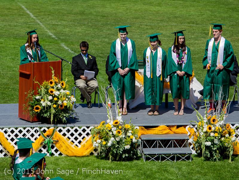 6966 Vashon Island High School Graduation 2015 061315