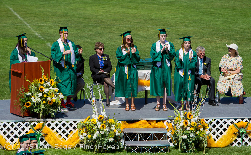 6989 Vashon Island High School Graduation 2015 061315