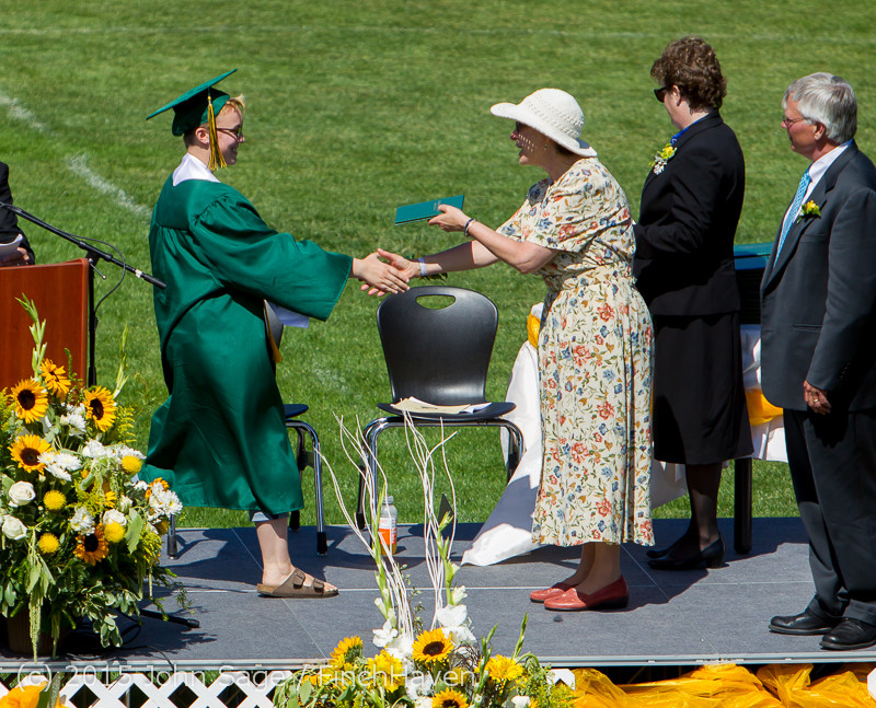 7025 Vashon Island High School Graduation 2015 061315