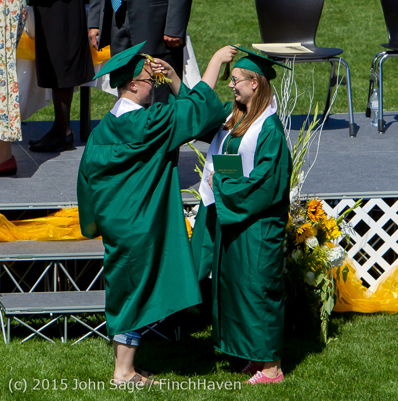 7031 Vashon Island High School Graduation 2015 061315