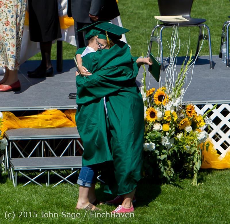7033 Vashon Island High School Graduation 2015 061315