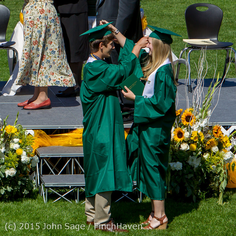7045 Vashon Island High School Graduation 2015 061315