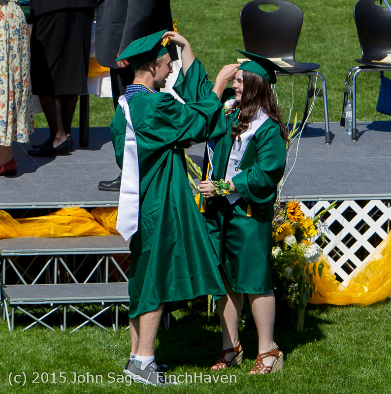 7056 Vashon Island High School Graduation 2015 061315