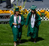 7078 Vashon Island High School Graduation 2015 061315
