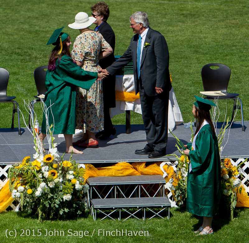 7082 Vashon Island High School Graduation 2015 061315