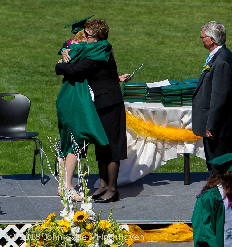 7088 Vashon Island High School Graduation 2015 061315