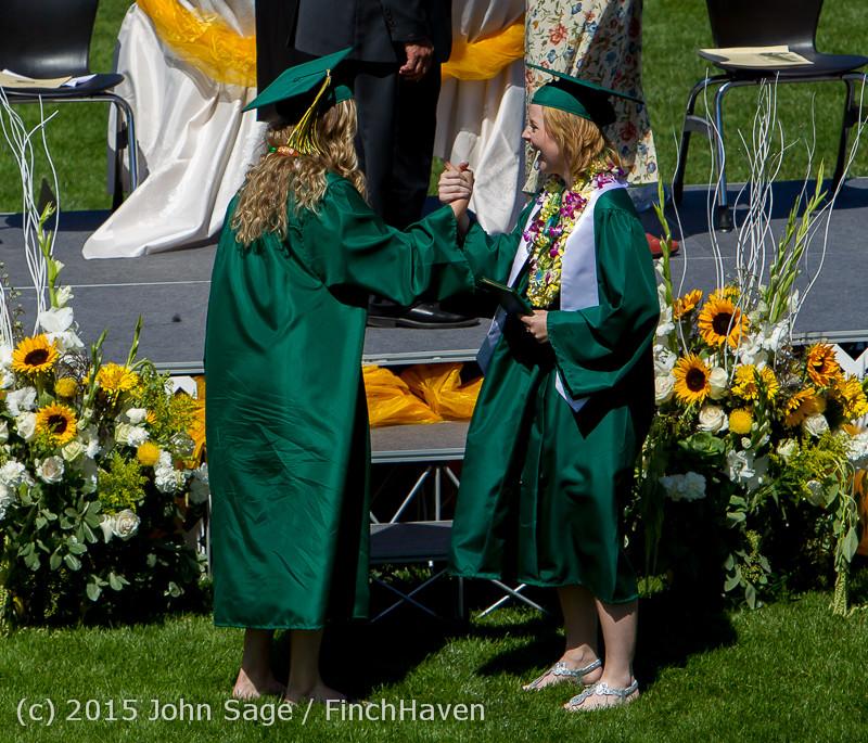 7101 Vashon Island High School Graduation 2015 061315