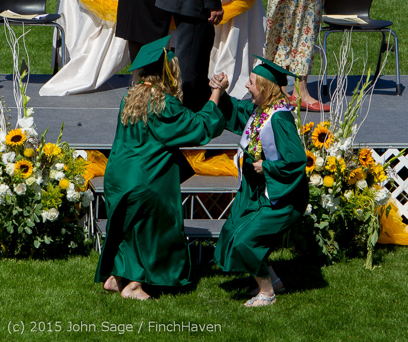 7102 Vashon Island High School Graduation 2015 061315