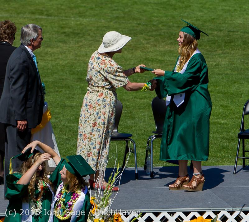 7106 Vashon Island High School Graduation 2015 061315