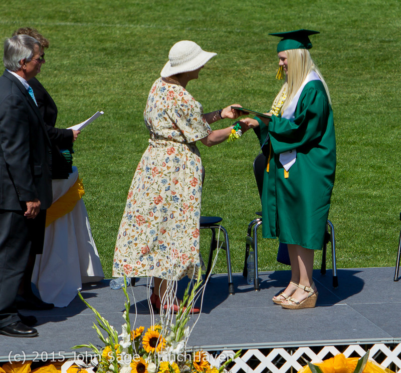 7112 Vashon Island High School Graduation 2015 061315