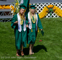 7129 Vashon Island High School Graduation 2015 061315