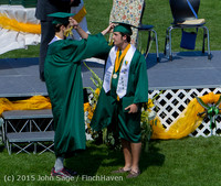 7131 Vashon Island High School Graduation 2015 061315