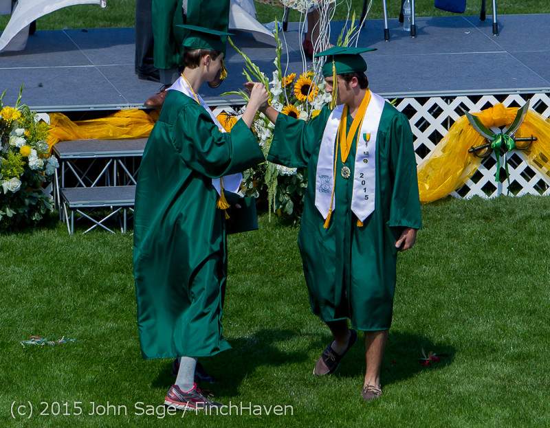 7137 Vashon Island High School Graduation 2015 061315