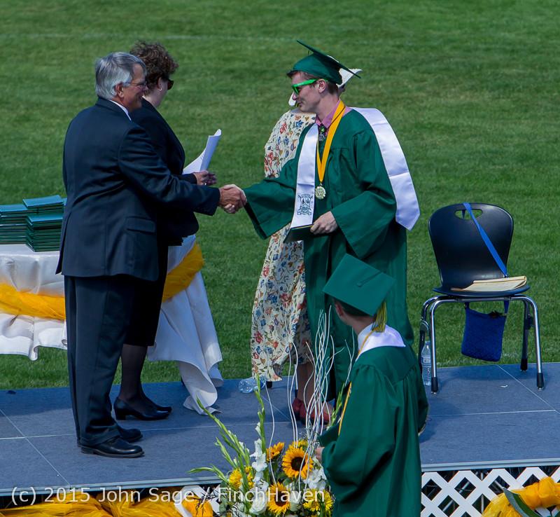7142 Vashon Island High School Graduation 2015 061315