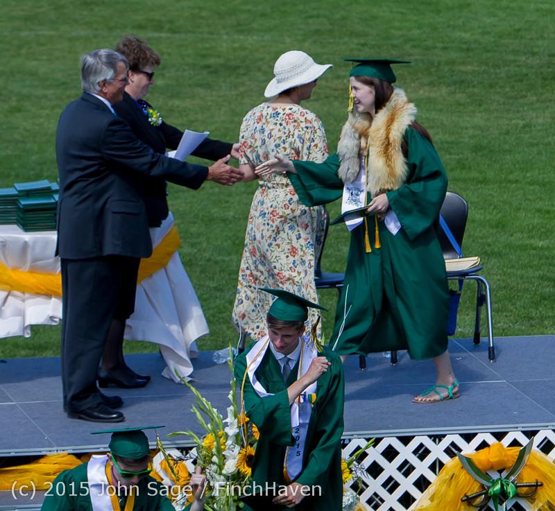 7151 Vashon Island High School Graduation 2015 061315