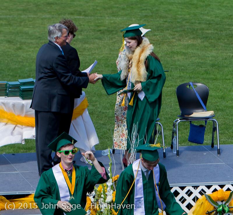 7152 Vashon Island High School Graduation 2015 061315