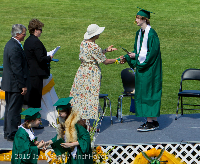 7172 Vashon Island High School Graduation 2015 061315