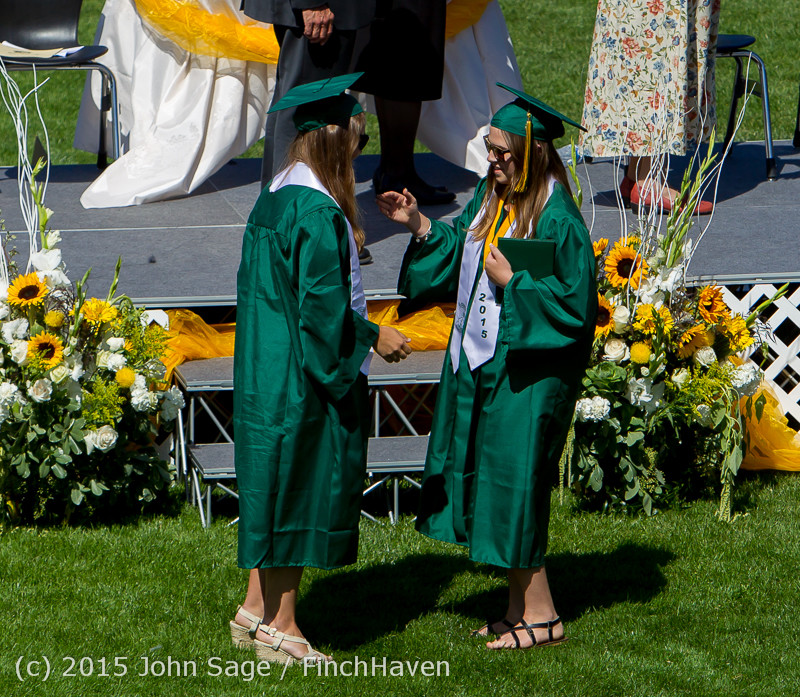 7194 Vashon Island High School Graduation 2015 061315