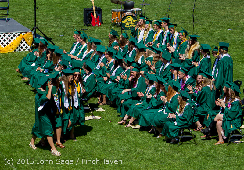 7233 Vashon Island High School Graduation 2015 061315