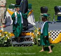 7239 Vashon Island High School Graduation 2015 061315