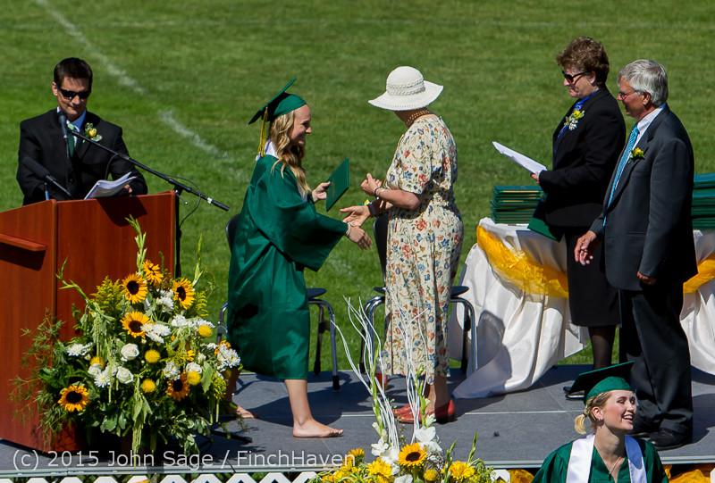 7252 Vashon Island High School Graduation 2015 061315
