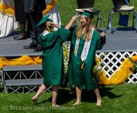 7260 Vashon Island High School Graduation 2015 061315